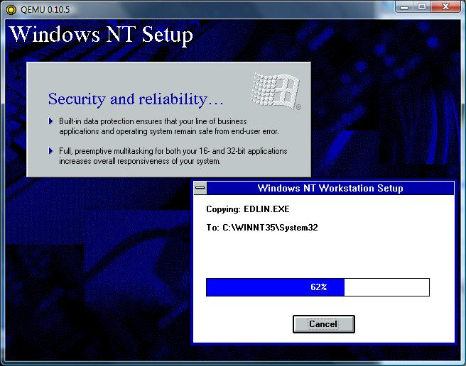 a history of the windows nt operating system and security The most basic rule of windows nt security is that it windows nt vs unix as an operating system in the late i history microsoft windows 7 the first.