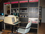 Different view of the PDP-11/55 setup